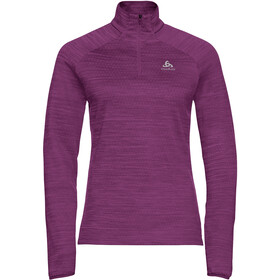 Odlo Millennium Element Midlayer 1/2 Zip Women charisma melange